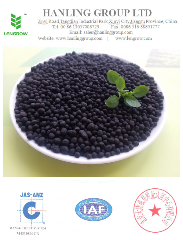 Amino acid ecological organic fertilizer granular
