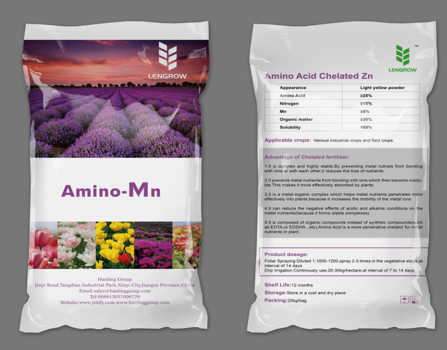 Amino Acid Chelated Single Micro Nutrients Fertilizer-Mn