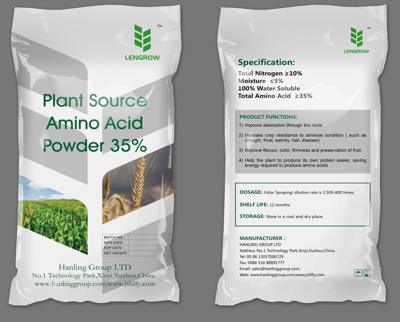 plant source amino acid fertilizer 35%