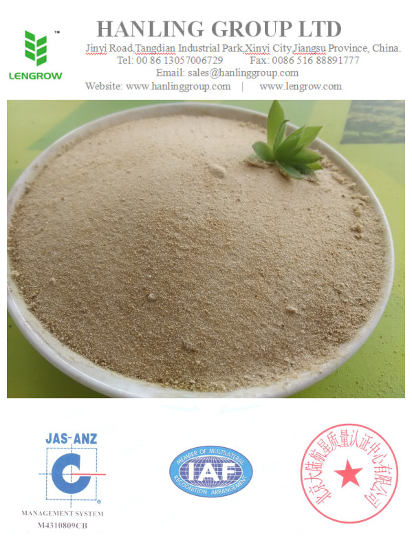 water soluble organic fertilizer amino acid chelated Mn