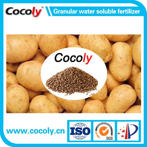 Cocoly granular water soluble fertilizer NPK+fulvic acid