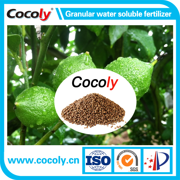 NPK fertilizer with trace element 100% water soluble cocoly brand