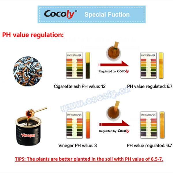 Cocoly water soluble fertilizer pH balancer