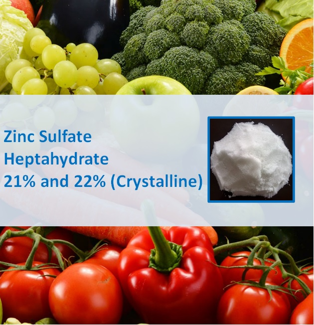 Zinc Sulphate Heptahydrate 21% Crystalline