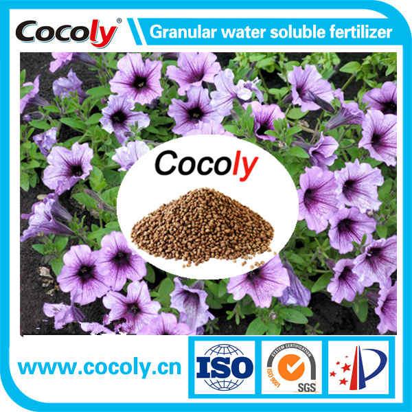 China excellent fertilizer cocoly granular water soluble fertilizer